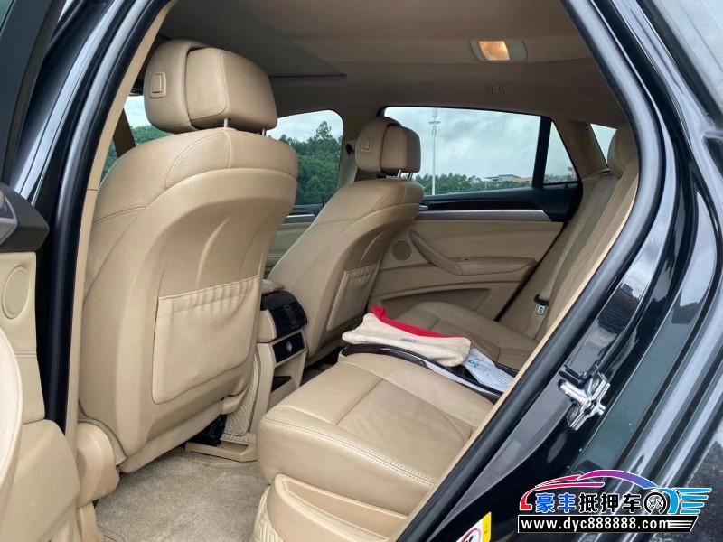 09年宝马X6SUV抵押车出售