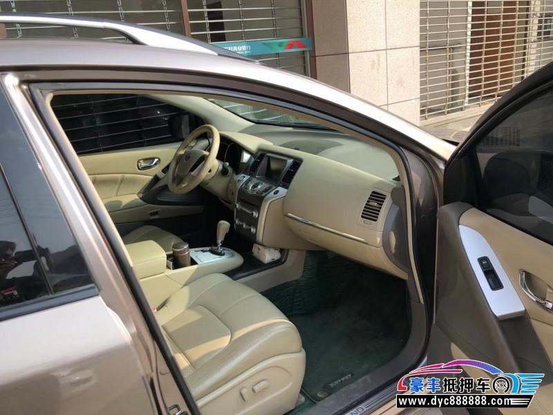抵押车出售11年日产楼兰SUV
