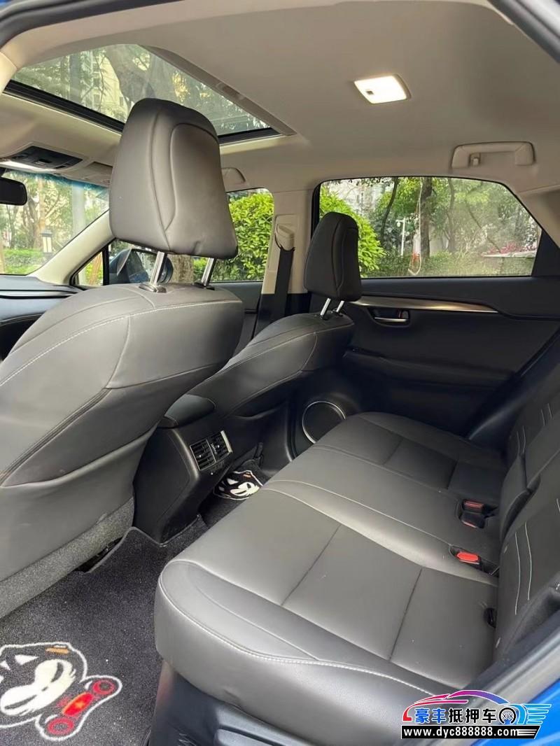 17年雷克萨斯NX轿车抵押车出售