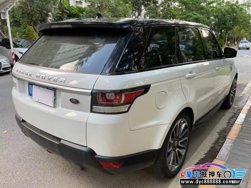 抵押车出售16年路虎揽胜运动版SUV