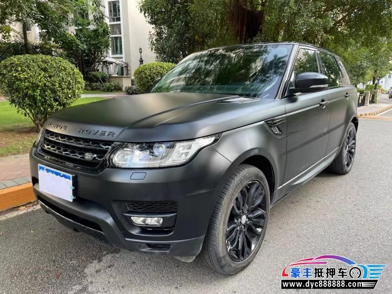 15年路虎揽胜运动版SUV抵押车出售