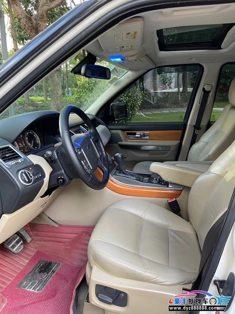 11年路虎揽胜运动版SUV抵押车出售