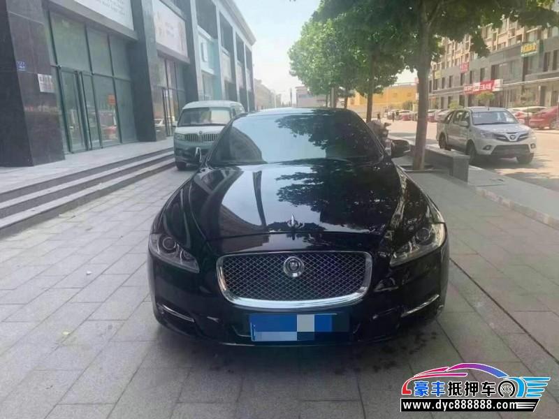 抵押车出售13年捷豹XJL轿车