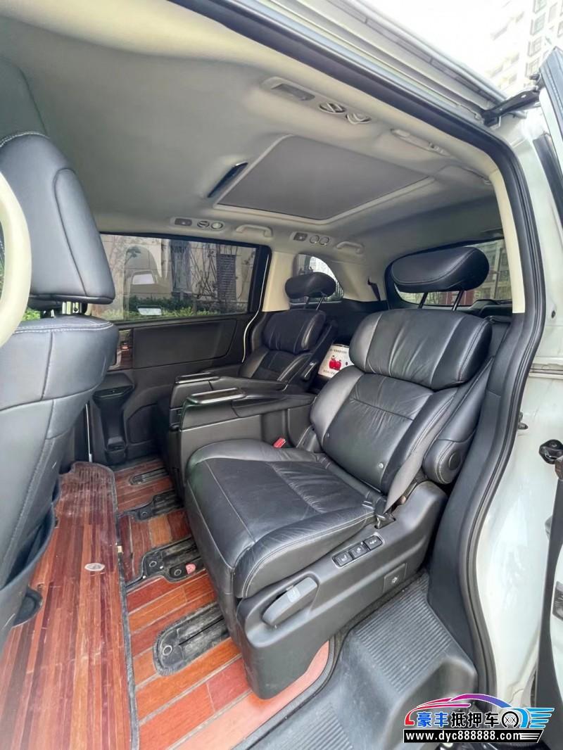 抵押车出售17年本田艾力绅SUV