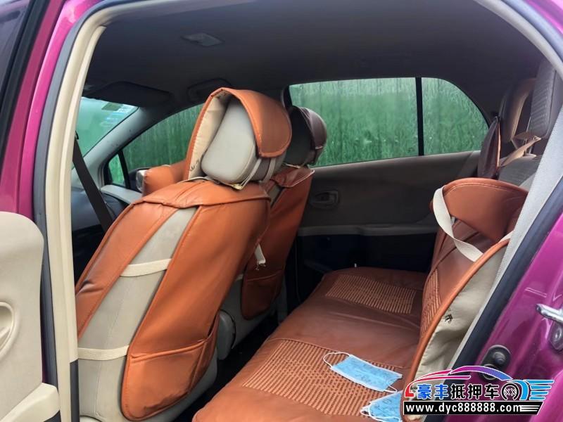 12年丰田雅力士轿车抵押车出售