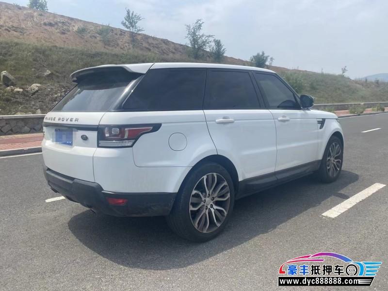 15年路虎揽胜运动SUV抵押车出售