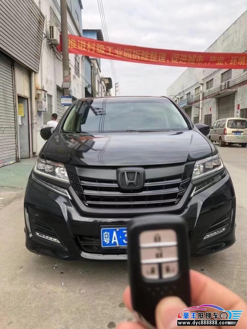 抵押车出售18年本田艾力绅MPV