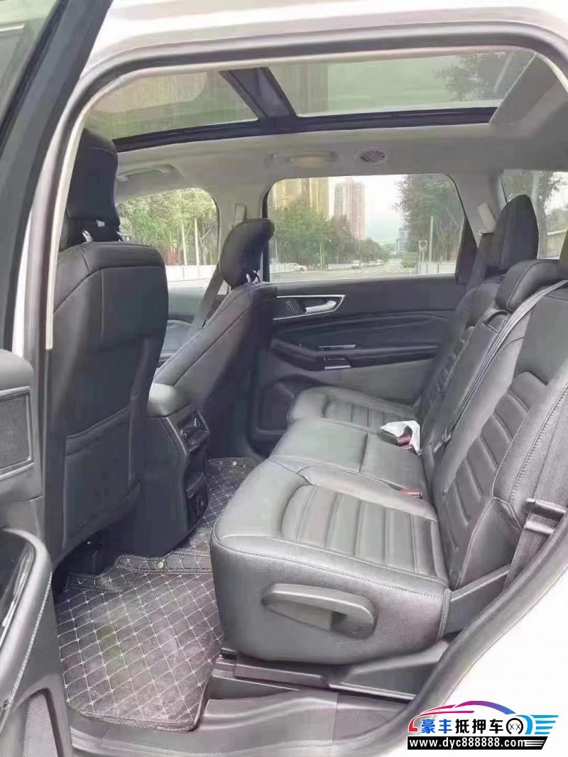 抵押车出售21年福特锐界SUV