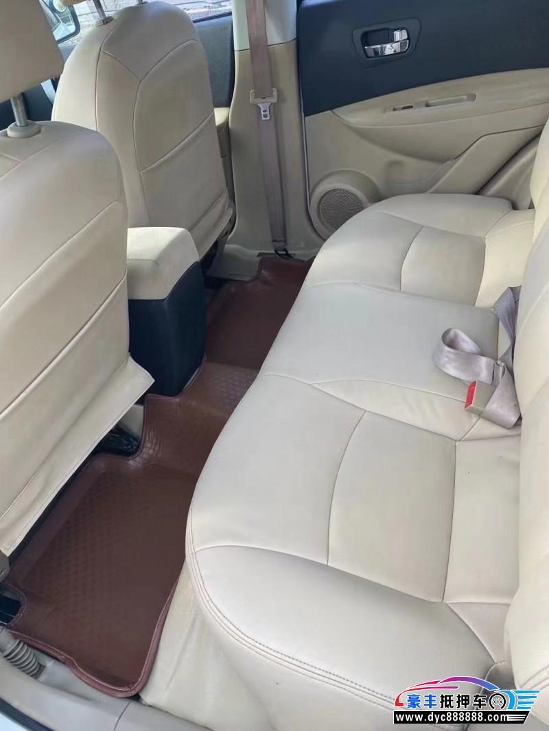 抵押车出售14年日产逍客SUV