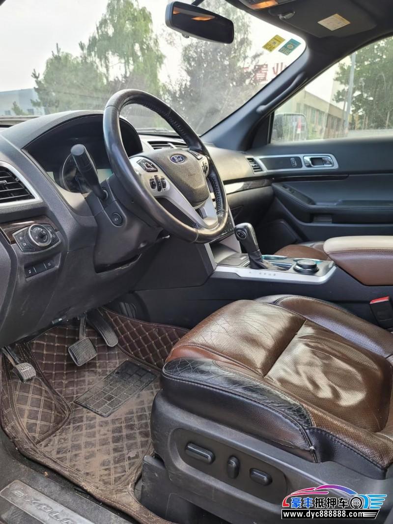 抵押车出售13年福特探险者SUV