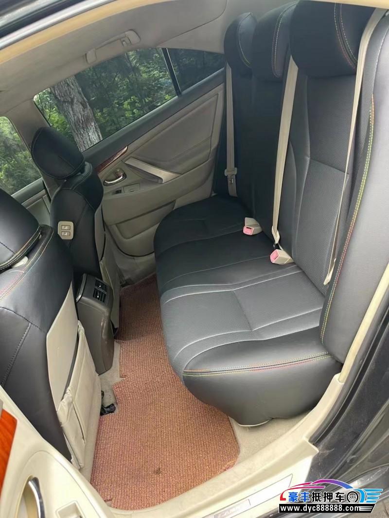 09年丰田凯美瑞轿车抵押车出售