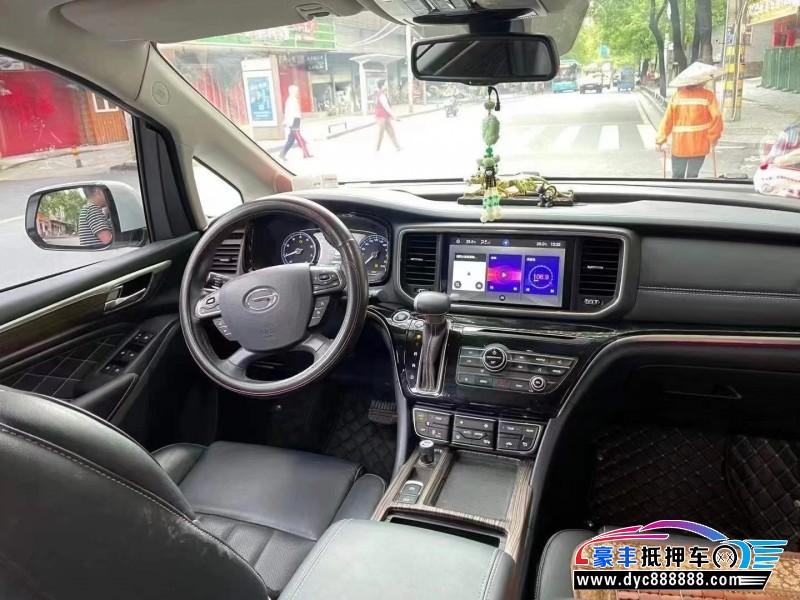 19年传祺GM8MPV抵押车出售