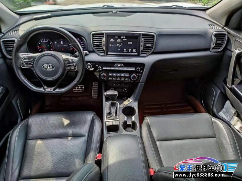 16年起亚KX5SUV抵押车出售