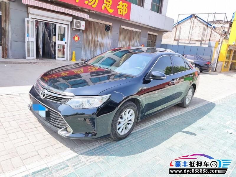 16年丰田凯美瑞轿车抵押车出售