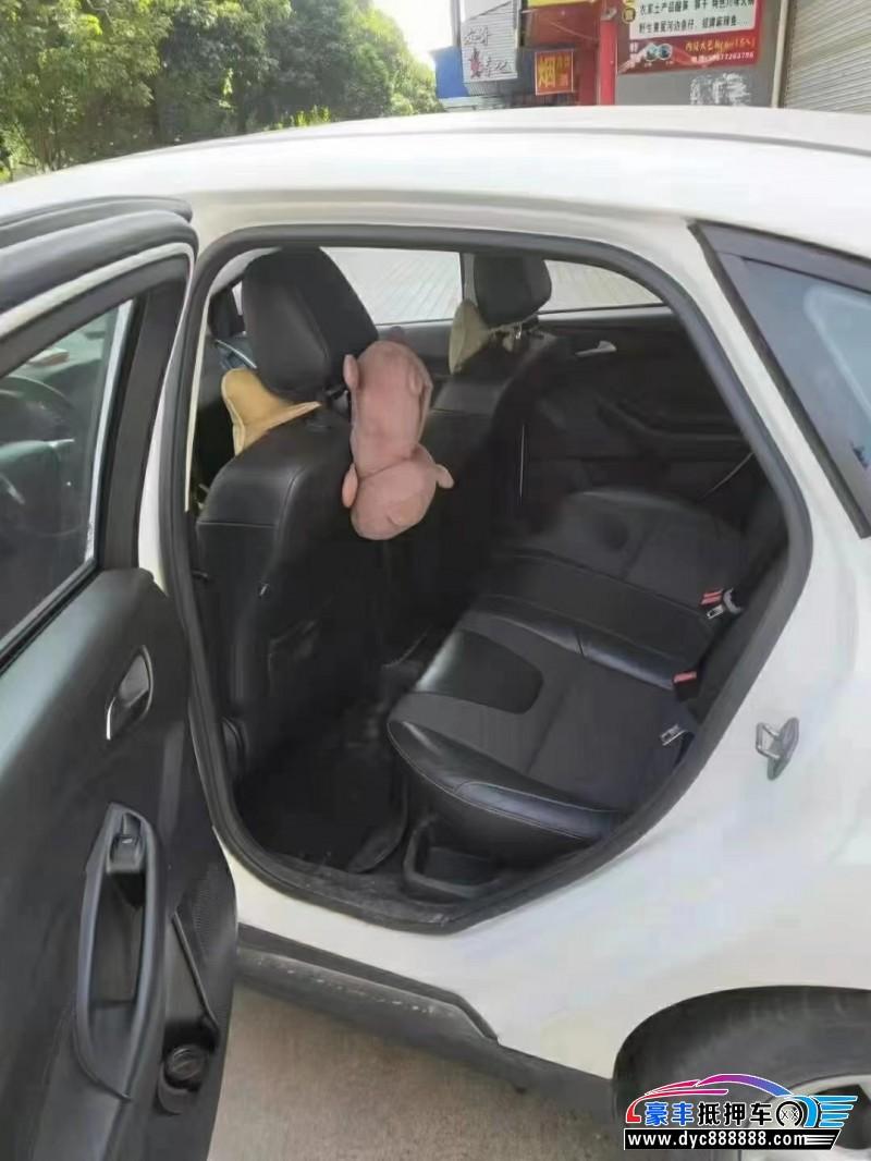 15年福特福克斯轿车抵押车出售