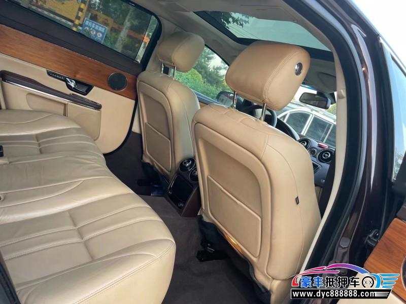13年捷豹XJL轿车抵押车出售