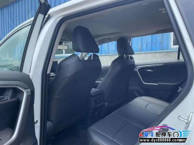 21年丰田威兰达SUV抵押车出售