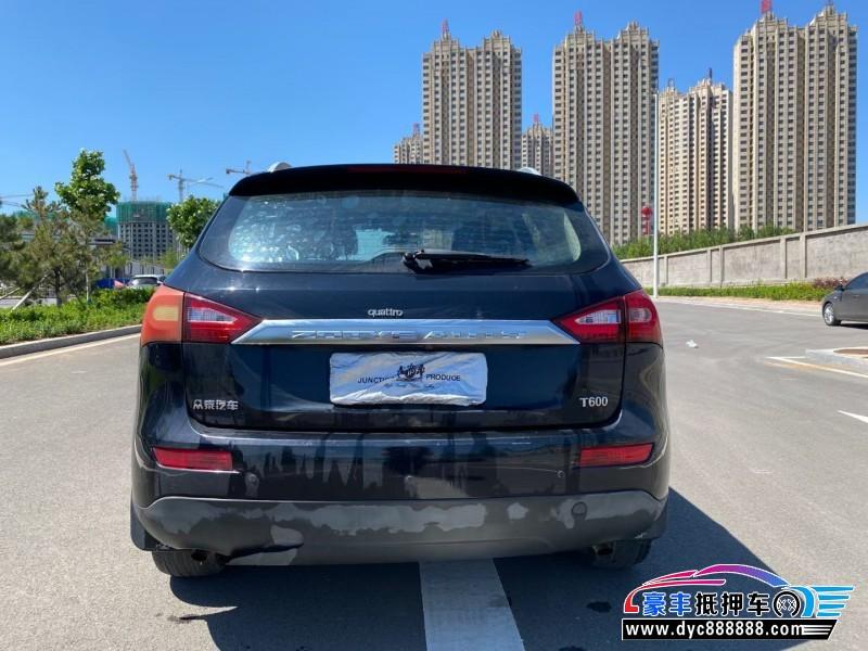 15年众泰T600SUV抵押车出售