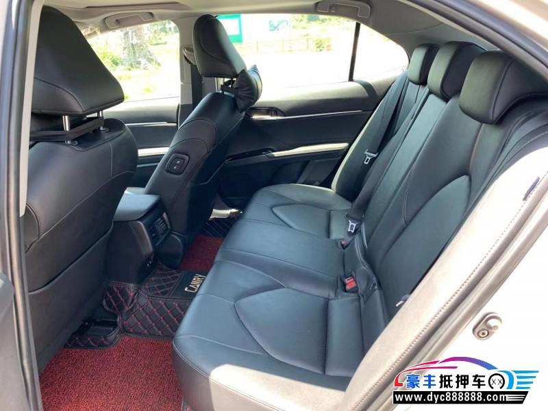 20年丰田凯美瑞轿车抵押车出售