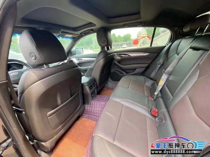 20年凯迪拉克CT5轿车抵押车出售