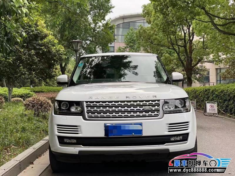 14年路虎揽胜行政SUV