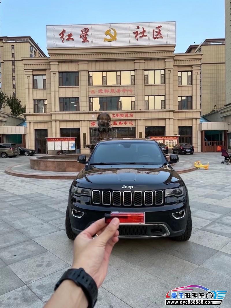 抵押车出售18年Jeep大切诺基轿车