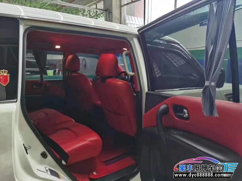17年日产途乐SUV抵押车出售