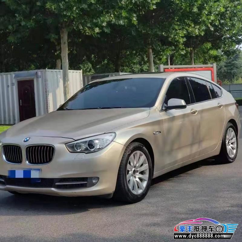 抵押车出售10年宝马5系GT轿车