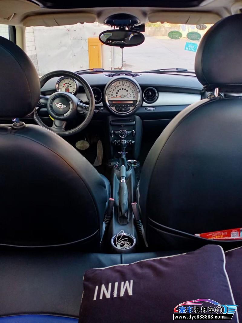 抵押车出售14年宝马MINI轿车