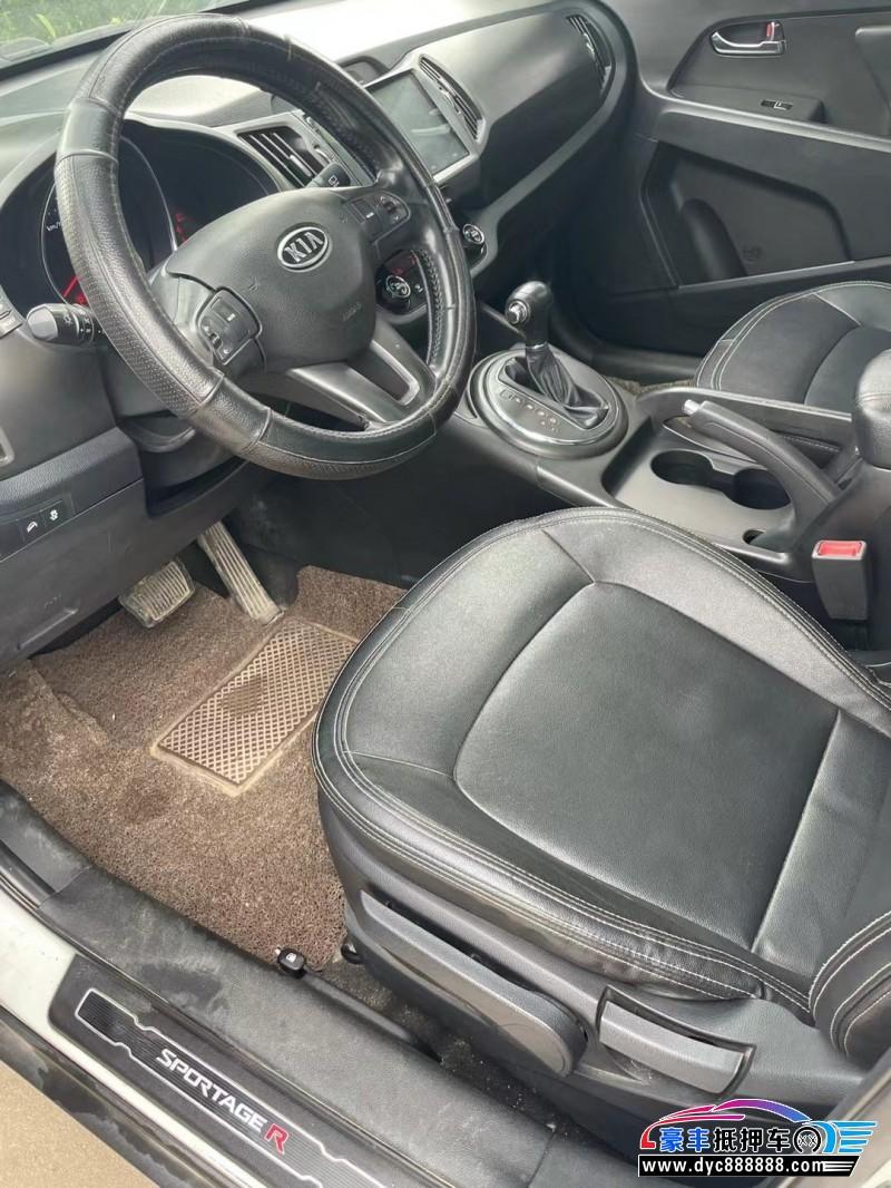 16年起亚智跑SUV抵押车出售