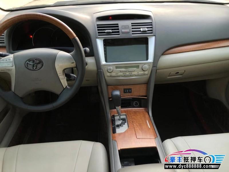 11年丰田凯美瑞轿车抵押车出售