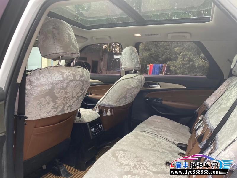 17年长安长安CS95SUV抵押车出售