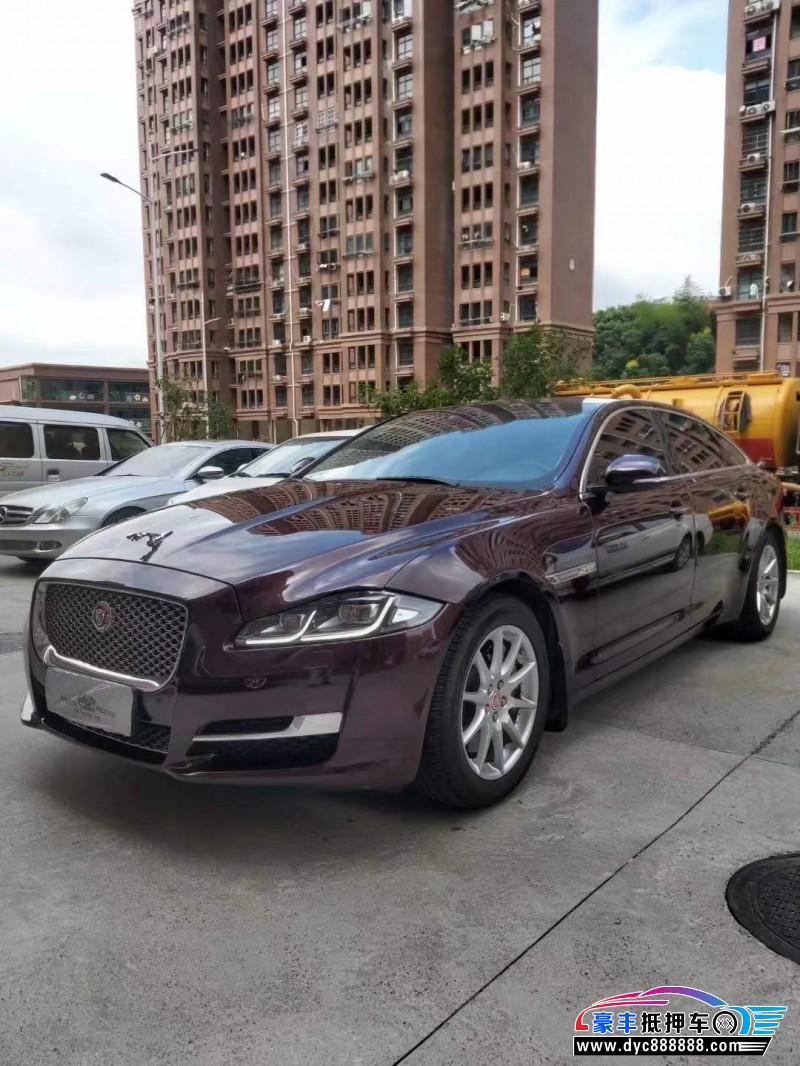 17年捷豹XJL轿车抵押车出售