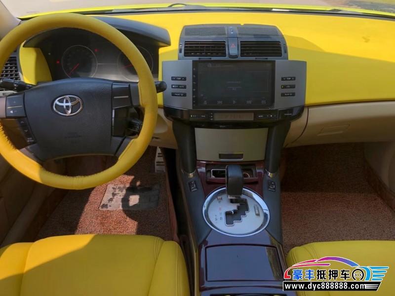 抵押车出售08年丰田锐志轿车