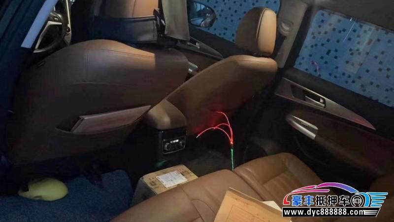 17年长安长安CS95轿车抵押车出售