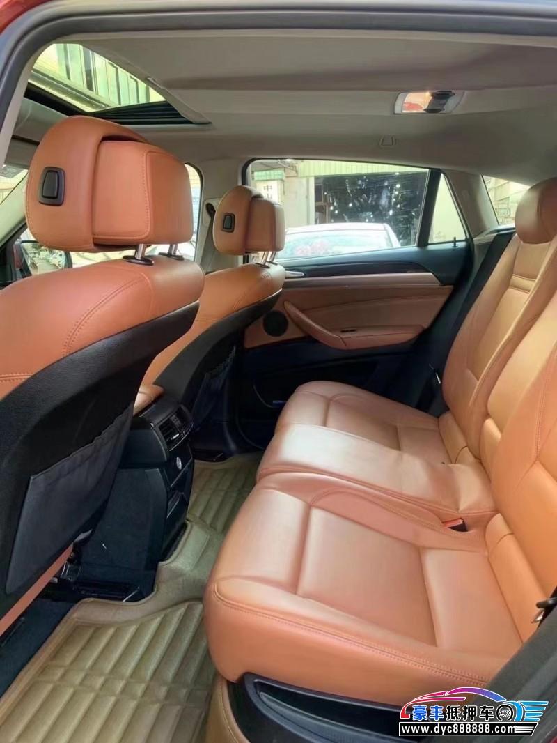 16年宝马X6轿车抵押车出售