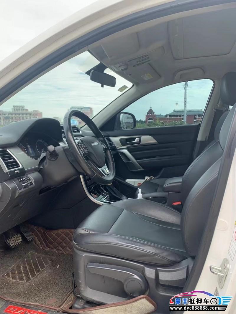 抵押车出售17年长城哈弗H2SUV
