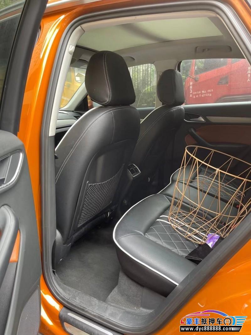 15年奥迪Q3轿车抵押车出售
