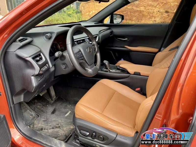 20年雷克萨斯ux300SUV抵押车出售