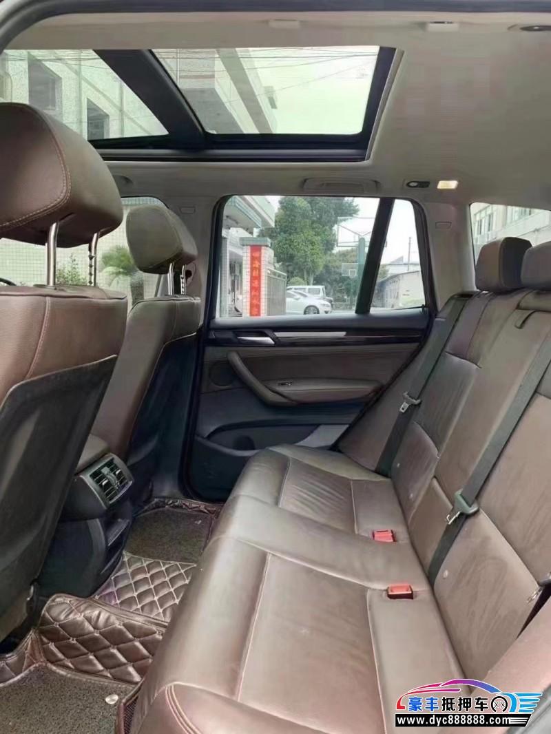 17年宝马X3SUV抵押车出售