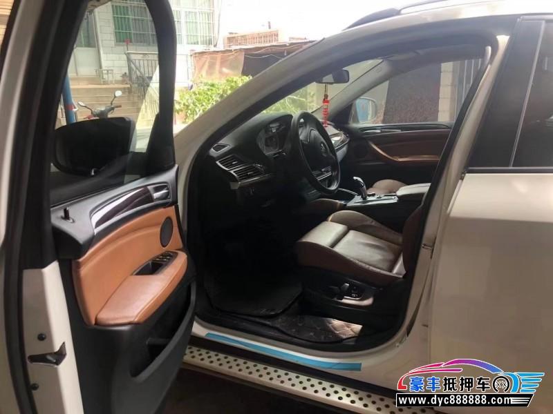 抵押车出售15年宝马X6轿车