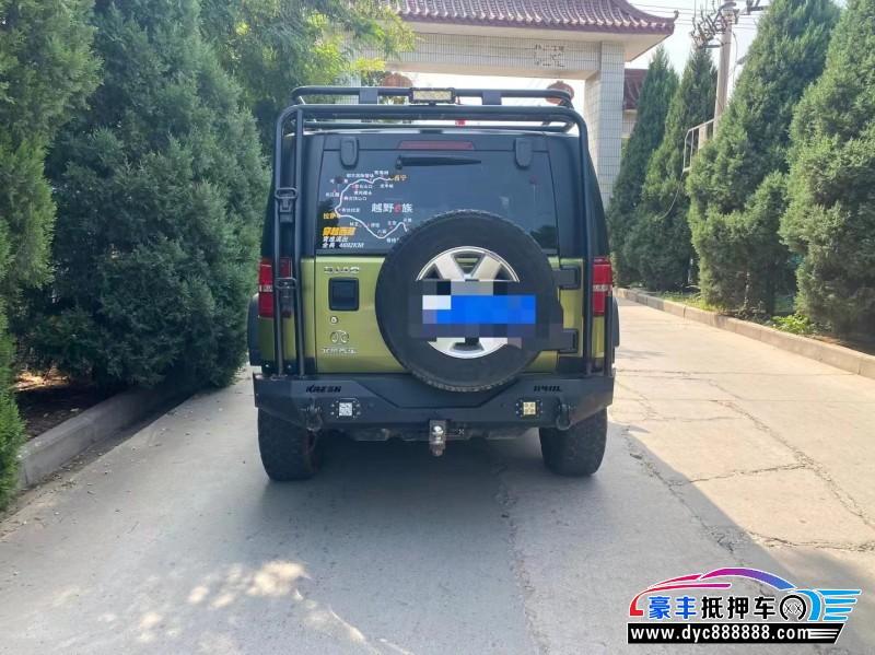 15年北京BJ40SUV抵押车出售