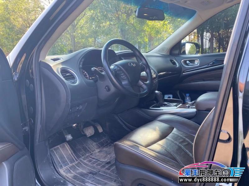 抵押车出售17年英菲尼迪QX60SUV
