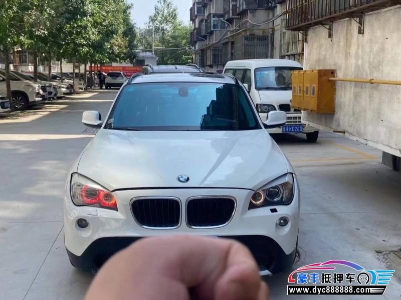11年宝马X1SUV抵押车出售