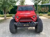 抵押车出售17年Jeep牧马人轿车