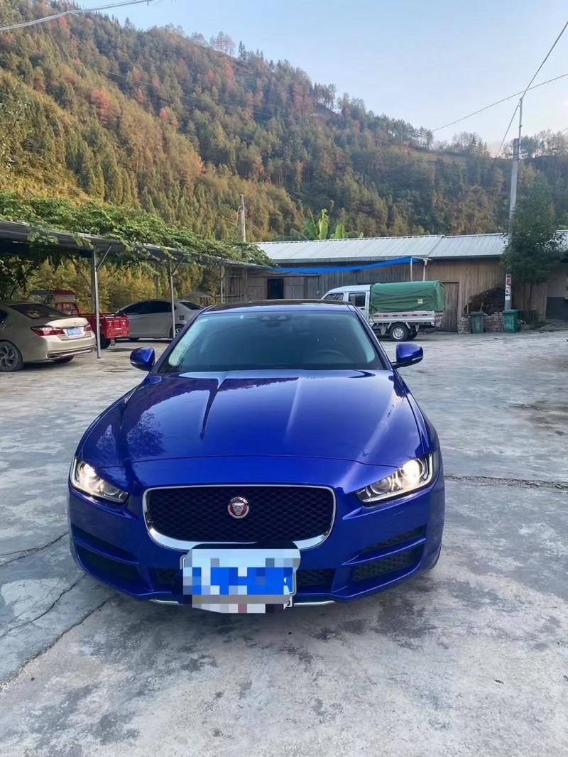 19年捷豹XFL轿车抵押车出售
