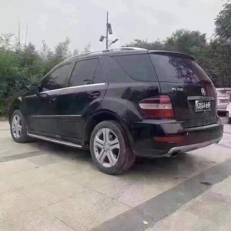 抵押车出售09年奔驰MLSUV