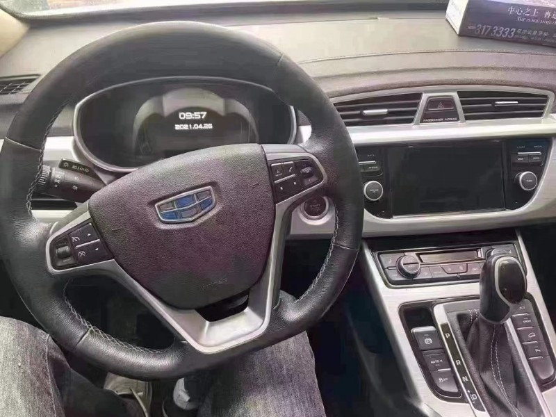 抵押车出售16年吉利博越SUV