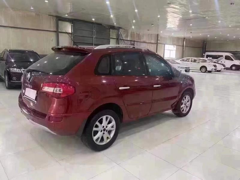 11年雷诺科雷傲SUV抵押车出售