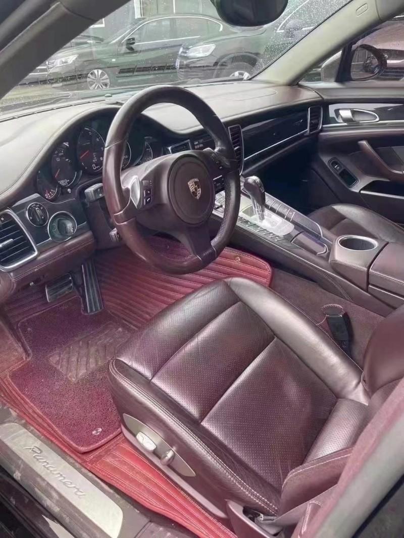 抵押车出售11年保时捷帕纳梅拉轿车